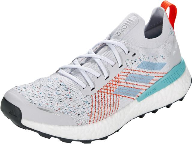 adidas TERREX Two Ultra Parley Zapatillas Trail Running Hombre, dash grey/footwear white/true orange